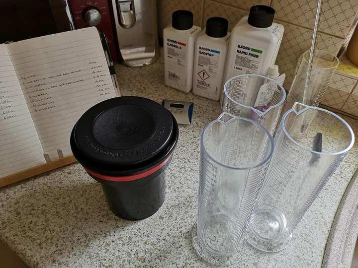 Processing Film and Making a HomemadeDarkroom