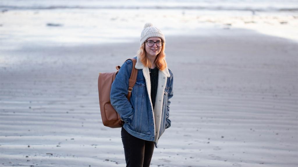Photograph of Georgina at GS Creative Photography Bognor Regis Beach, West Sussex